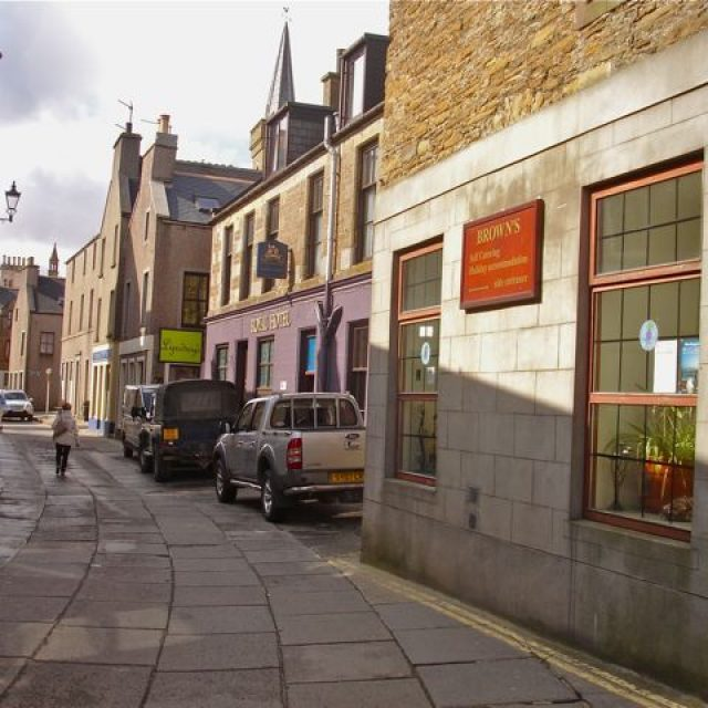 Brown's Hostel, Orkney